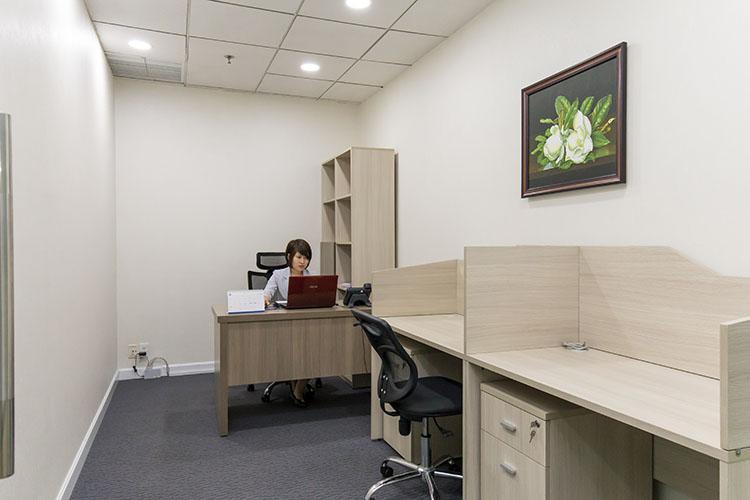 Cho thuê văn phòng diện tích nhỏ