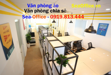 Cho thuê văn phòng chia sẻ 1.800.000/Tháng【+Full nội thất+】