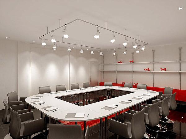 Phòng họp phía trong văn phòng