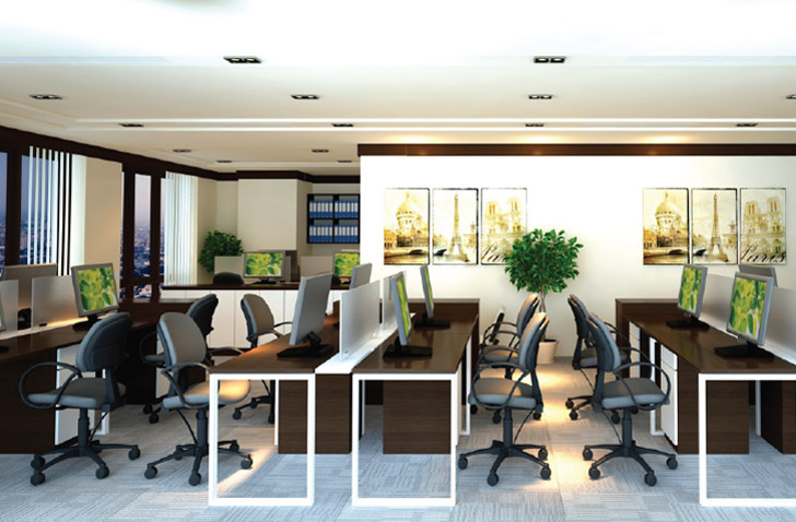 Chi phí thuê văn phòng hạng B tại TPHCM