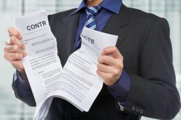 Thông báo chấm dứt hợp đồng thuê văn phòng