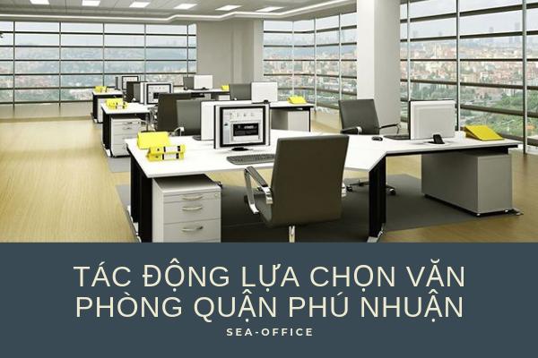 Cho thuê văn phòng quận Phú Nhuận