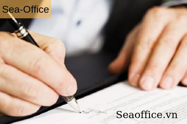 Mẫu thông báo chấm dứt hợp đồng thuê văn phòng