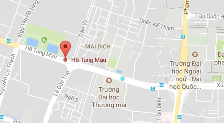 Cho thuê văn phòng đường Hồ Tùng Mậu
