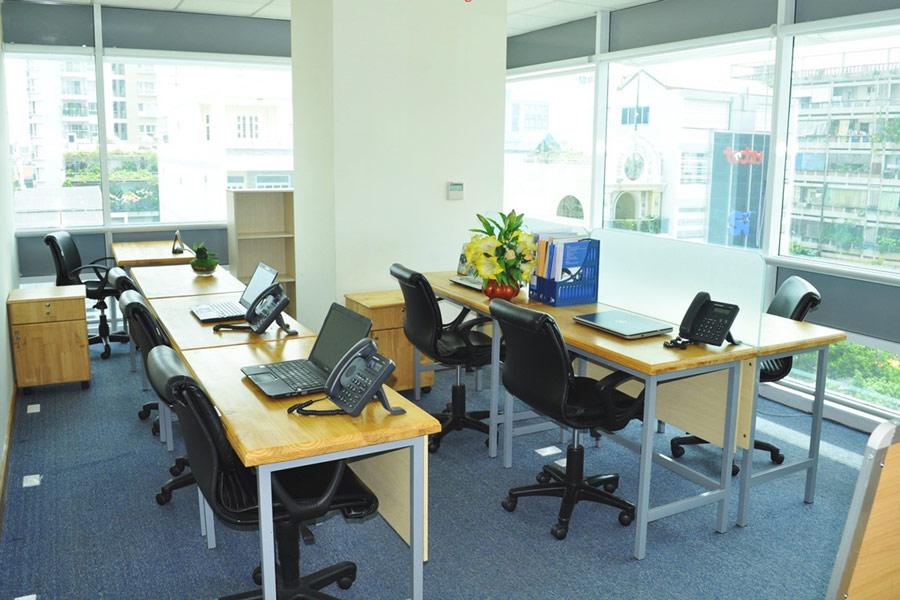 Định khoản tiền thuê văn phòng -2
