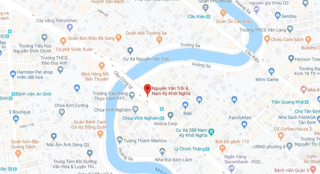 Cho thuê văn phòng đường Nguyễn Văn Trỗi