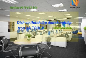 Dịch vụ thành lập doanh nghiệp trọn gói TPHCM