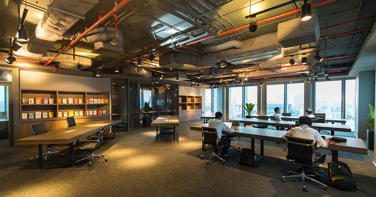 Không gian tiện nghi, kiến trúc mở hiện đại, tối ưu diện tích nhất