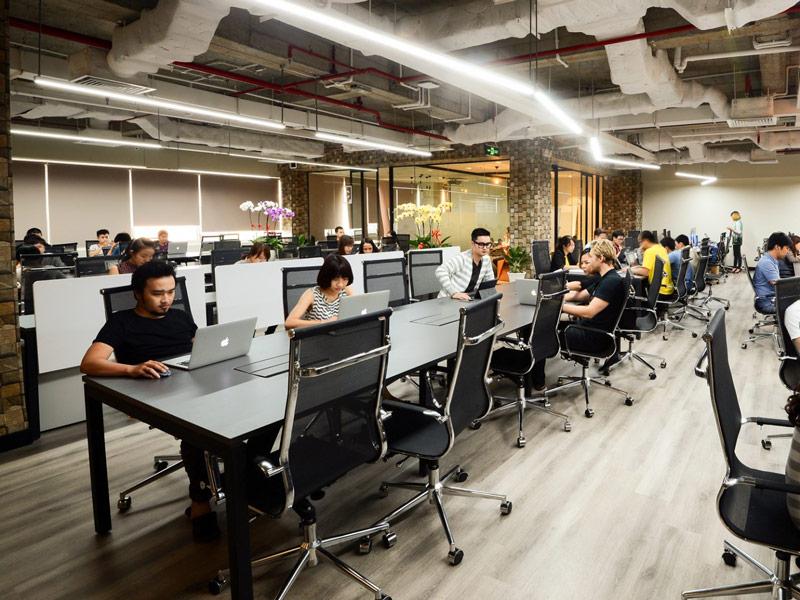 Chỗ ngồi làm việc tại quận 11 đáp ứng nhu cầu của nhiều khách hàng