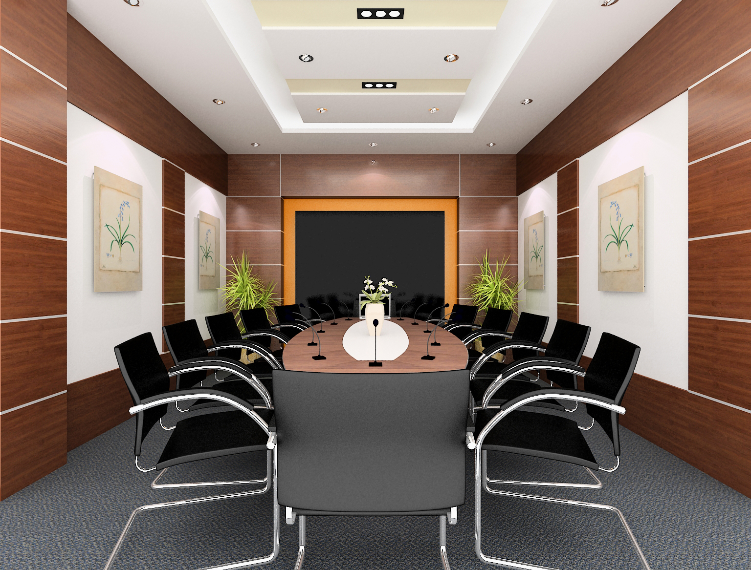 Văn phòng khang trang, hiện đại là thế mạnh để thúc đẩy tinh thần làm việc và ấn tượng của của đối tác, khách hàng